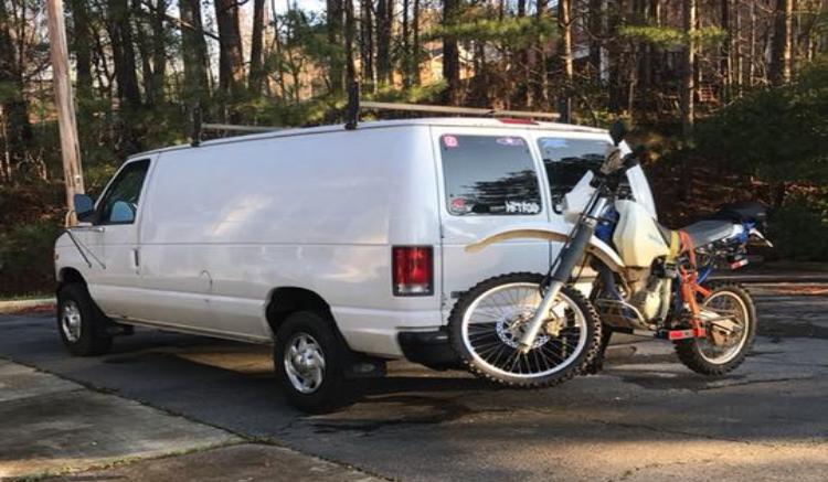 Van Life E350 Ford
