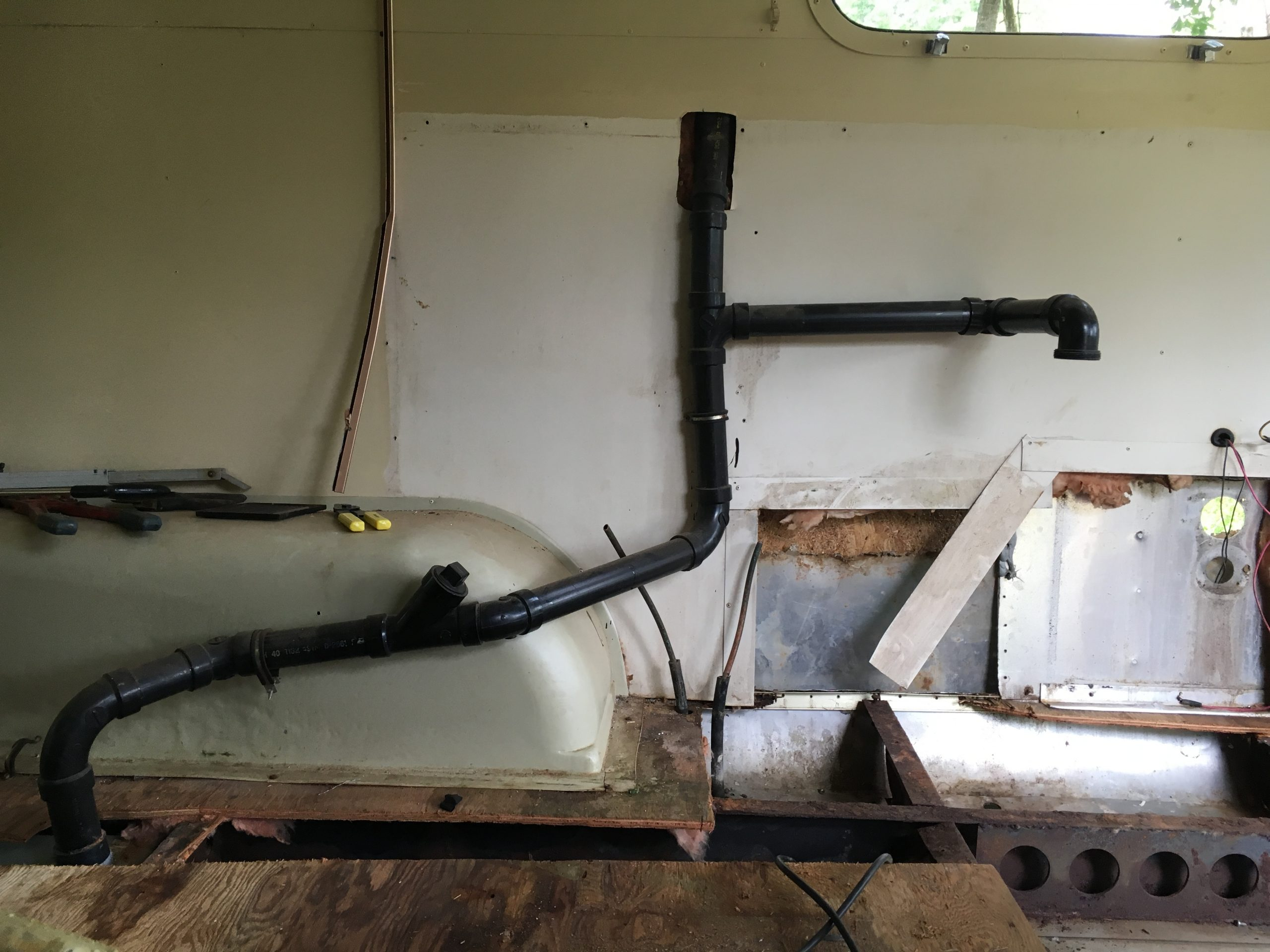 Pex Piping for Airstream
