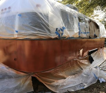 Airstream Argosy Renovation